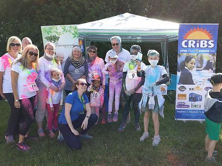 Colour Dash CRiBS runners group