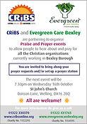 Prayer Evening Evergreen flyer