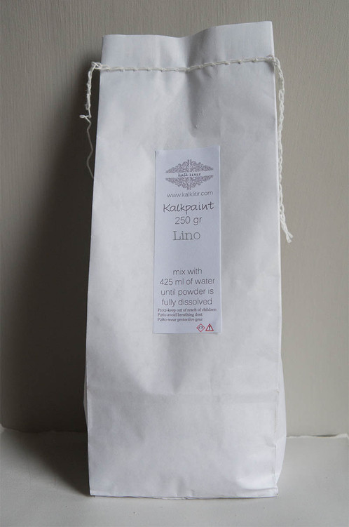 Kalkpaint Sample Bags Contain 250 Grams Of Mix It With 425 Ml Water And You Will Have 0 5 Liters Fresh