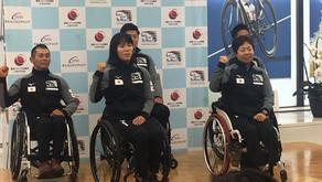 日本財団で行われた2019シーズンパラカヌー活動計画発表会見