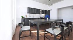 Paris flat - Kitchen 01