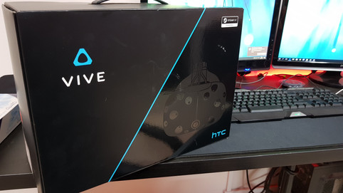 Hands on HTC Vive