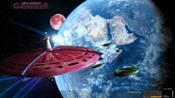 Blacky's Spaceship - From Grendizer
