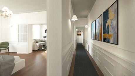 Paris flat part 3 (Bed room)