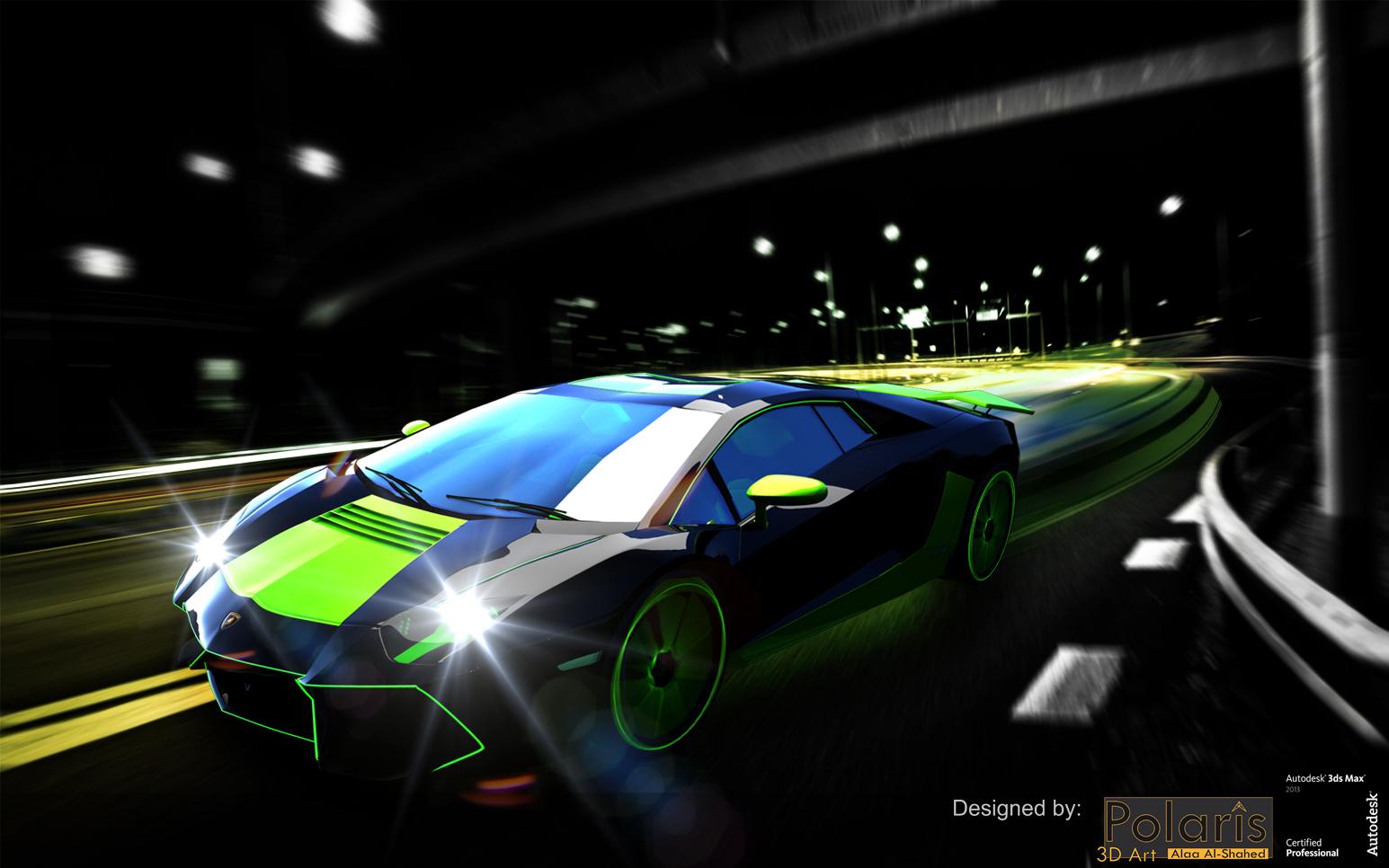 Aventador 2012 Alaa Edition