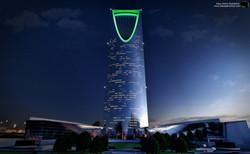 Kingdom Tower of Riyadh