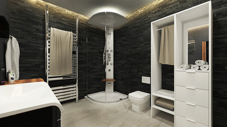 Paris flat final part (Bathroom)