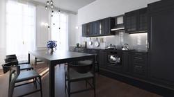 Paris flat - Kitchen 02