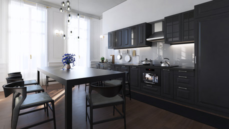 Paris Flat part 2 (Kitchen)