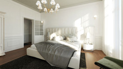 Paris flat - Bed room 01
