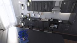 Paris flat - Kitchen 03