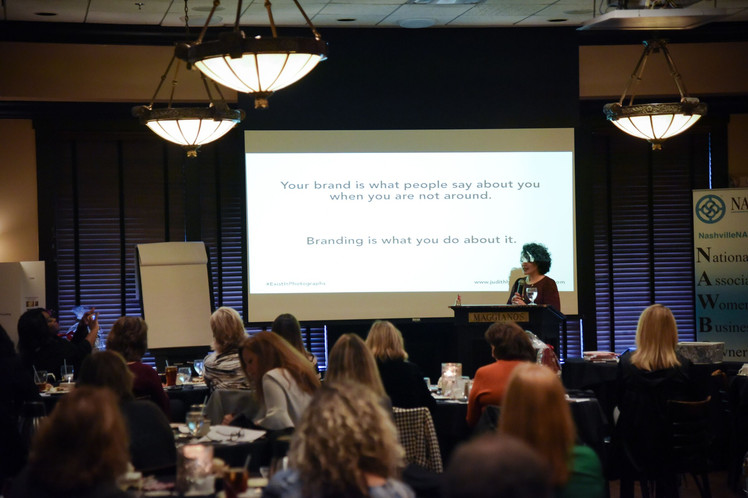 Judith Hill Teaching About Images That Sell