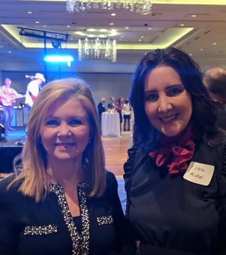 Diane & Senator Marsha Blackburn