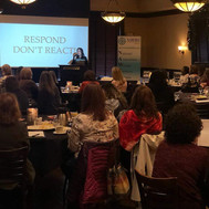 Diane Delivering Keynote at LLL symposium