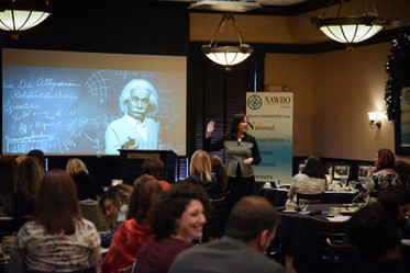 Diane Delivering Keynote at Symposium