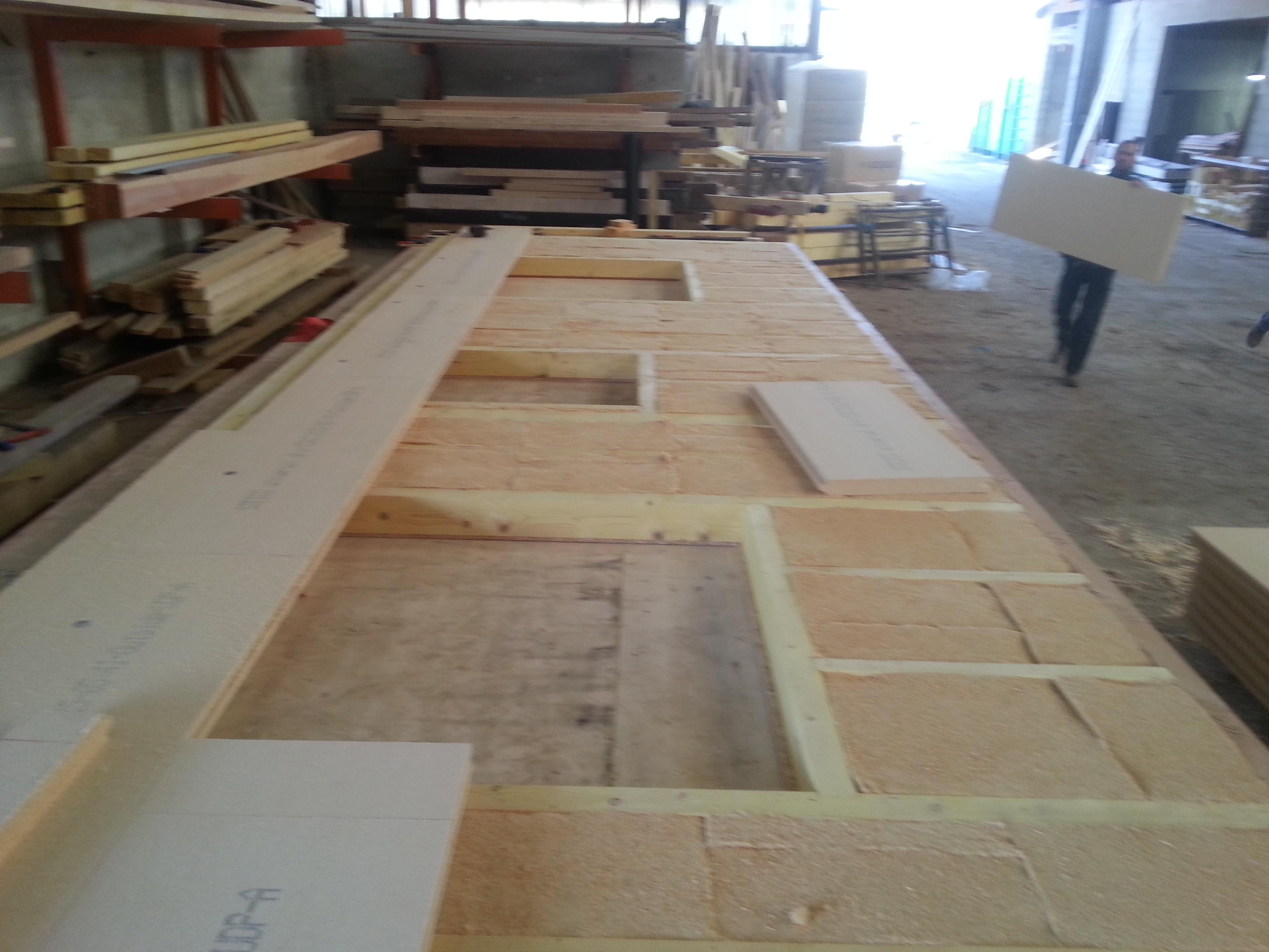 Conception murs ossature bois