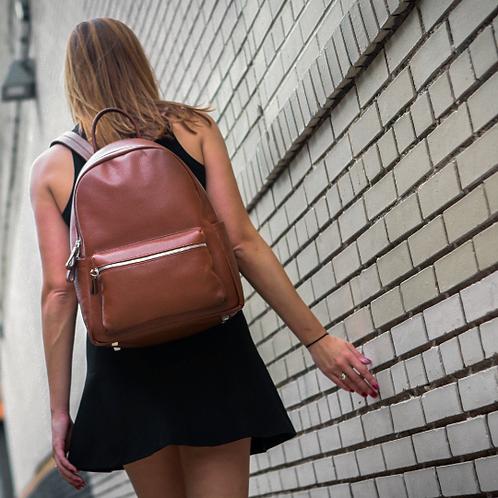 Crown | Everyday Backpack | Brown|