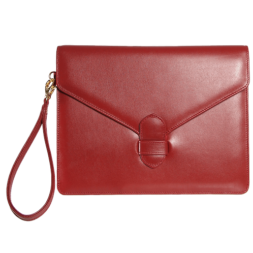 Palo Envelope Clutch | Ruby