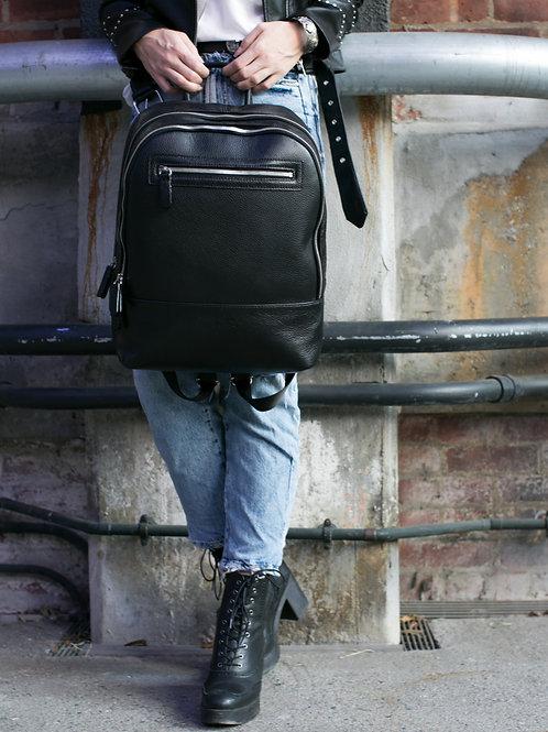 Atlas | Everyday Backpack | Black |