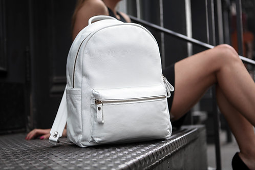 Crown | Everyday Backpack | White |
