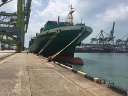 """MV """"Passat Summer"""" alongside (Port of Singapore)"""