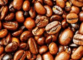 Grains de café en vrac