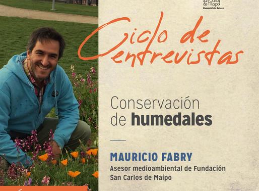 """Mauricio Fabry: """"No existe un sistema social posible si no contemplamos nuestro medioambiente"""""""