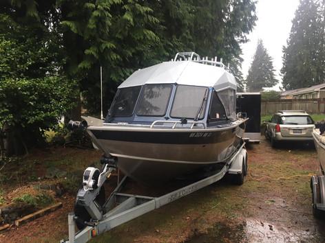 Custom North River Seahawk Hard Top