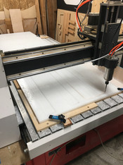 Router Cutting Plastic