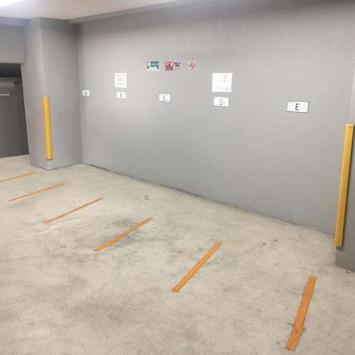 2輪駐車場