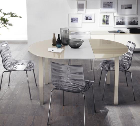 круглий розкладний стіл Minimax