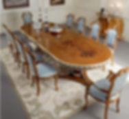 Італійські столи у Львові - салон Лео Гранде