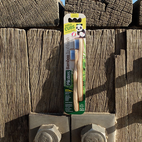 Bamboo Children's Toothbrushes (Twin Pack)