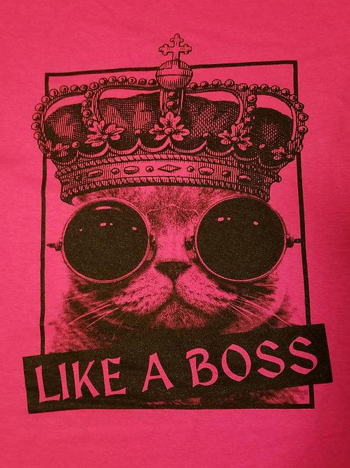 Like A Boss Raglan 3/4 Sleeve