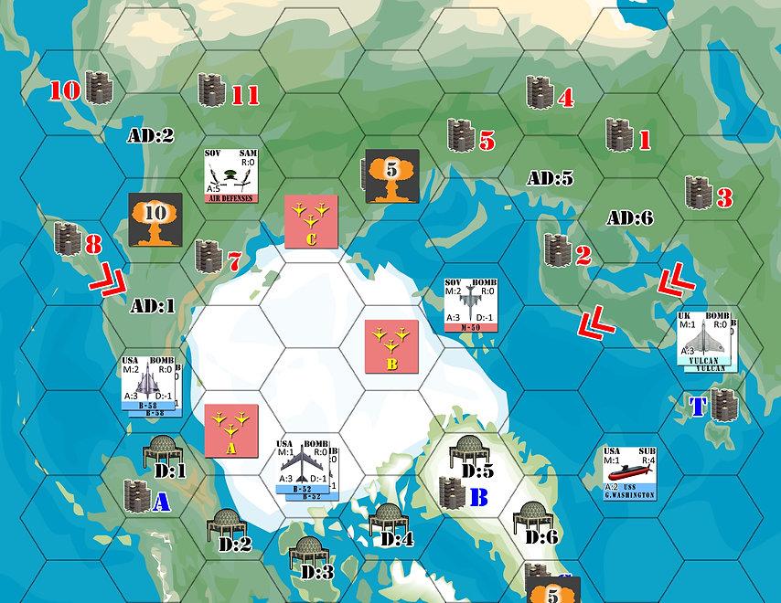 Top-Half of Red Menace Map