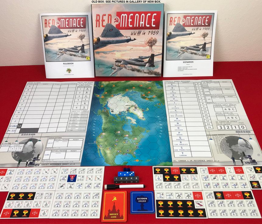 Red Menace (2nd Edition) Components