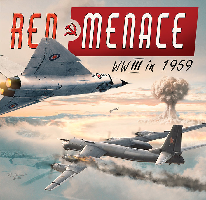 Red Menace 2nd Edition Box Cover