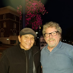 WAR drummer Sal Rodriguez and Billy Barner
