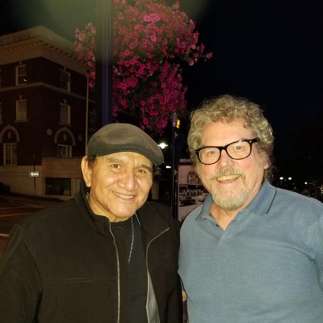 WAR drummer Sal Rodriguez and Billy Barner