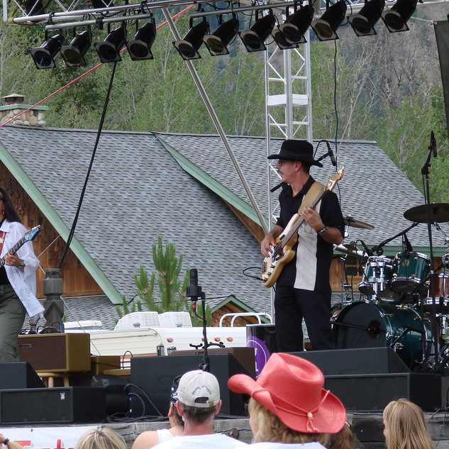 Nicole Fournier, Gary Way and Billy at The Winthrop Music Festival 2007