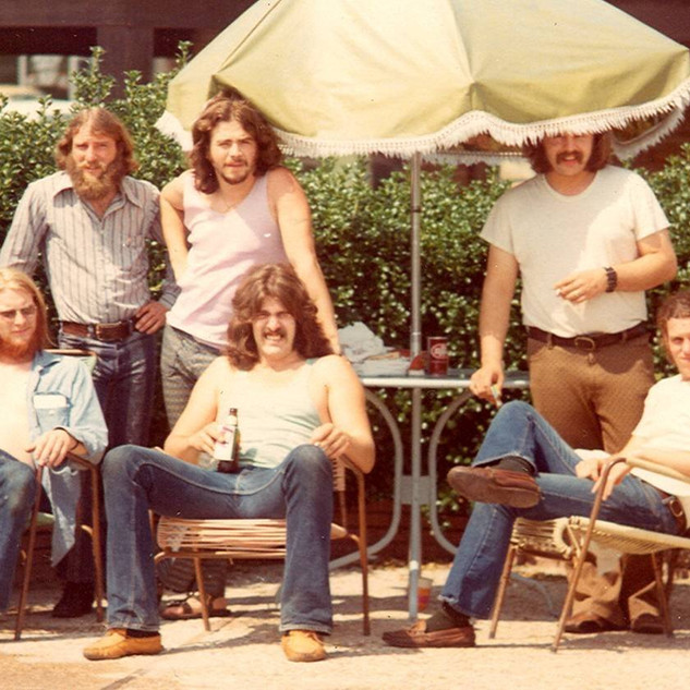 Hometown on tour with RB Greaves in Fort Worth Texas 1972