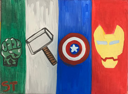 avengers painting