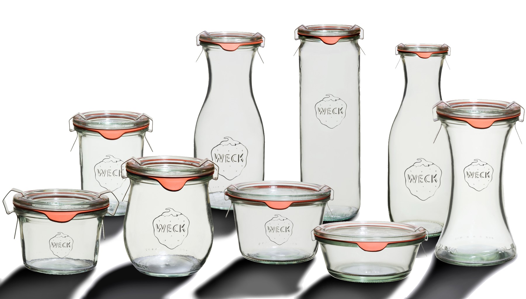 Weck Glass Canning Jars Canada