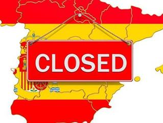 Alleen nog vitale werkzaamheden en beroepen in Spanje.