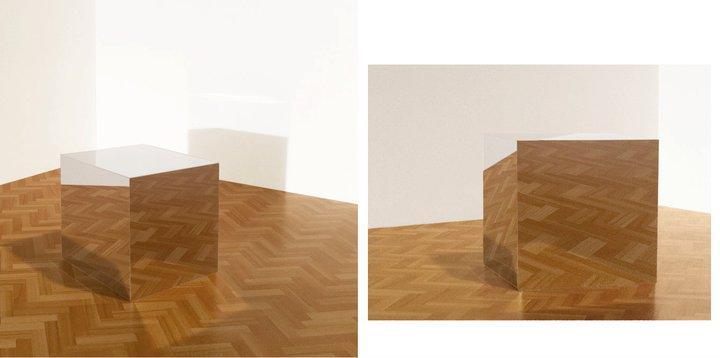 """Mirror Box"". 2011"