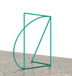 """Three/50. Green"". 2017"