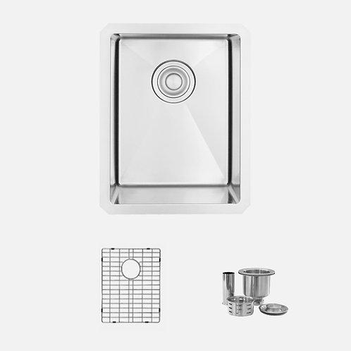 STYLISH 14'' IVORY S-310G Single Bowl Kitchen Sink
