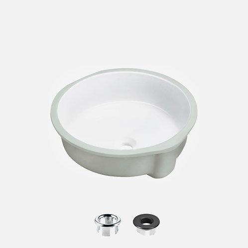 STYLISH 16'' Undermount Bathroom Sink NATTY P-207
