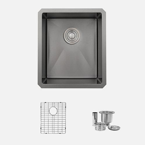 STYLISH 16'' LAVA S-709XN Single Bowl Kitchen Sink