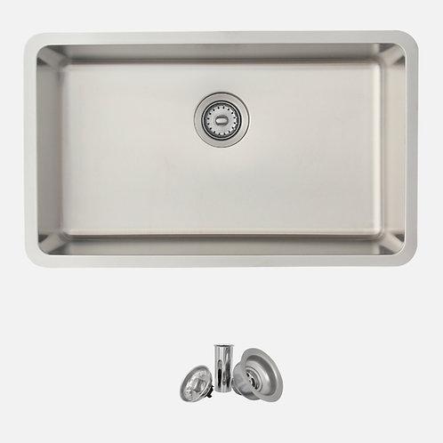 STYLISH 29'' MALAGA S-411T Single Bowl Kitchen Sink